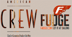 Products: American Crew & Fudge in London, UK