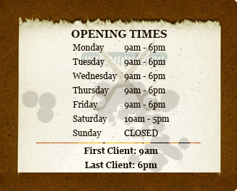 UK's Men's Salon's Opening Times
